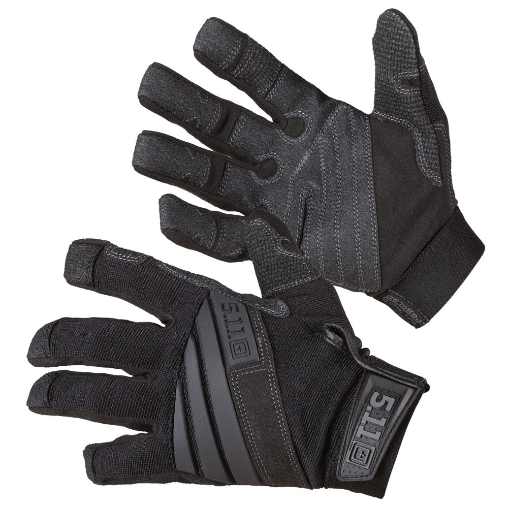 Tactical Tac K9 Dog Handler Glove - Black