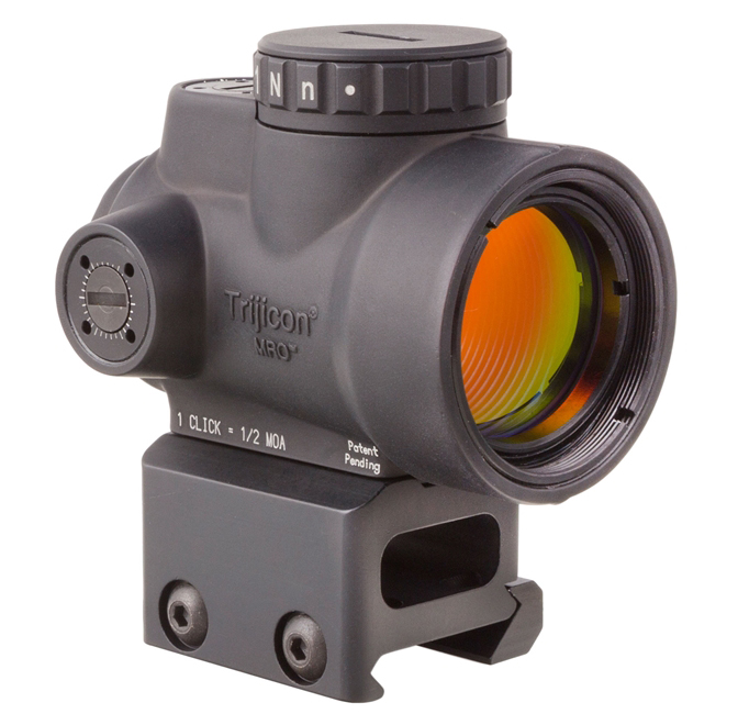 MRO Mini Rifle Optic 1x25, 2 MOA Dot