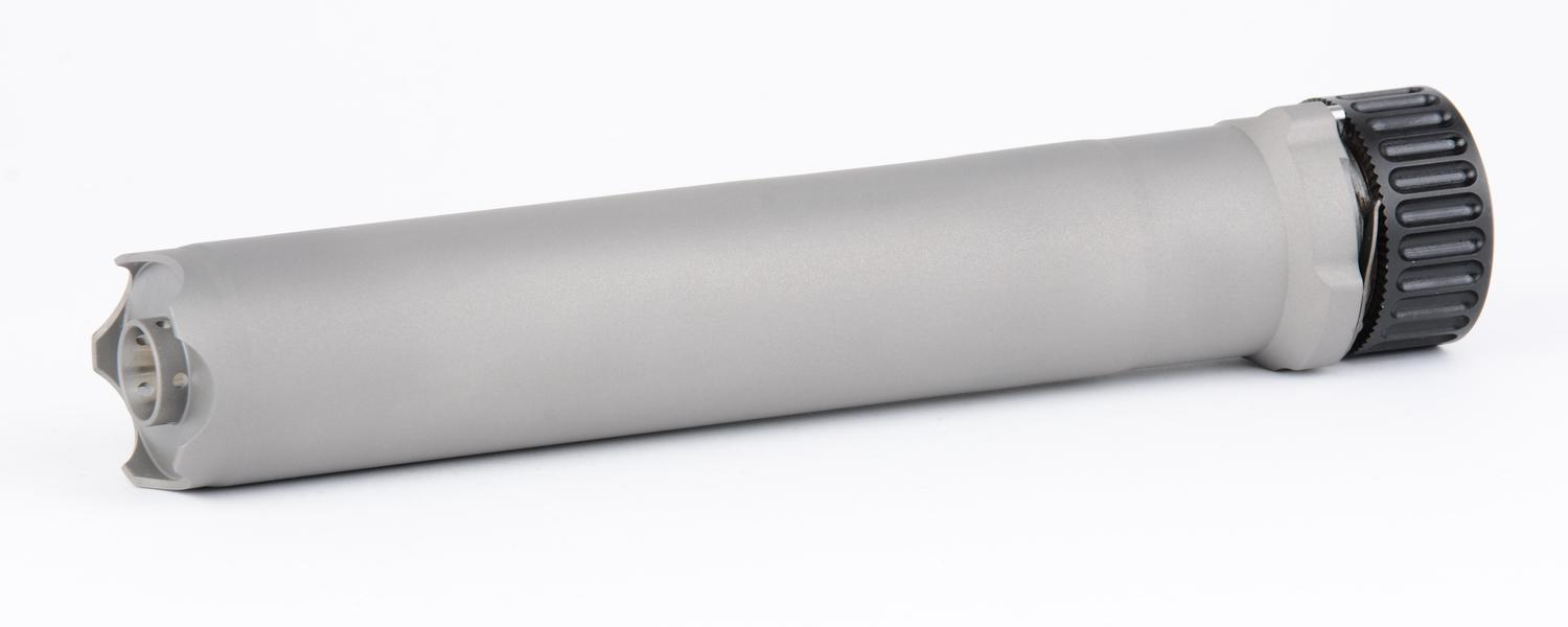 .338 LM Monoblock rifle suppressor for Haenel RS9