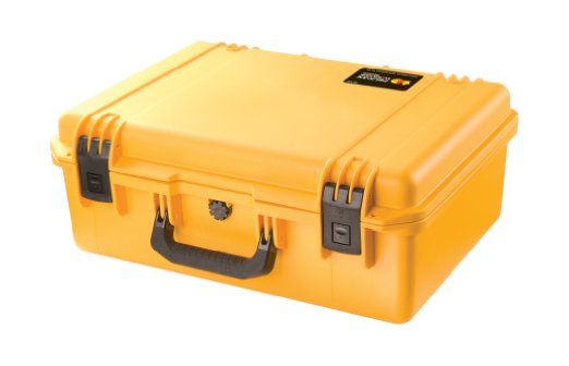iM2600 case with lid and base foam - Yellow