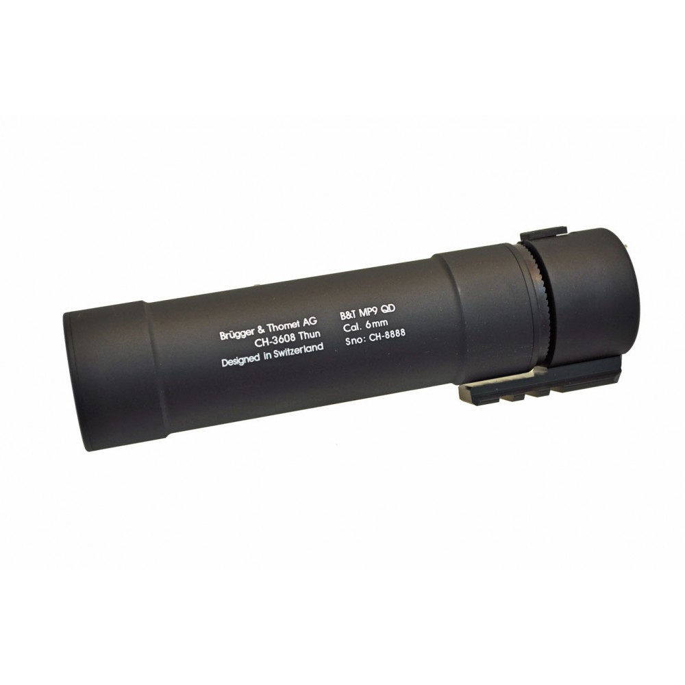 9mm QD SMG/PDW suppressor for APC9/MP5/MP5K