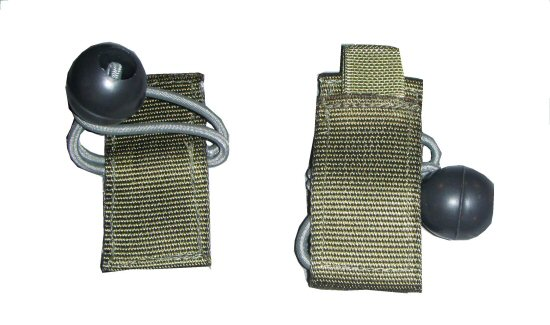 Elastic Weapon Catch, loop and ball - MOLLE